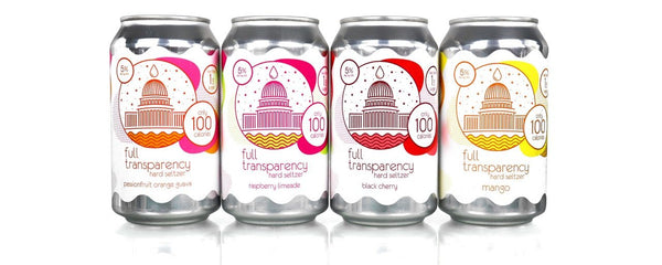 DC Brau's Full Transparency Variety Pack Hard Seltzer *12 Pack*