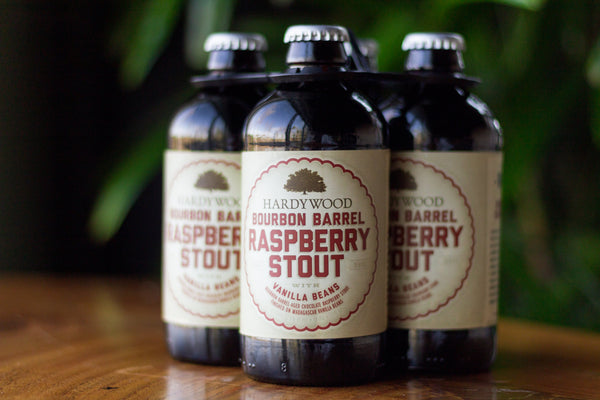 Hardywood Park Bourbon Barrel Raspberry Stout