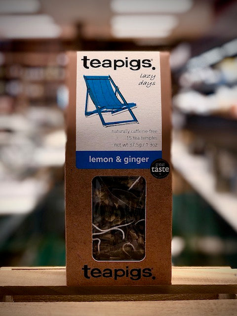 Lemon and Ginger Tea - Teapigs