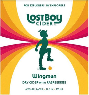 Lost Boy Wingman Raspberry Dry Cider