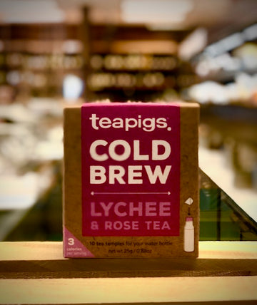 Lychee and Rose Cold Brew Tea - Teapigs