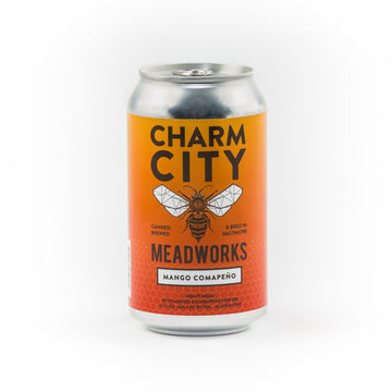 Charm City Mango Comapeño Draft Mead Cans