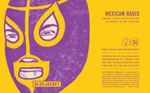 Bluejacket Mexican Radio Stout