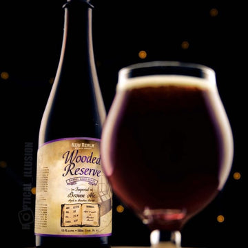 New Realm Wooded Reserve Bourbon Barrel Imperial Brown Ale