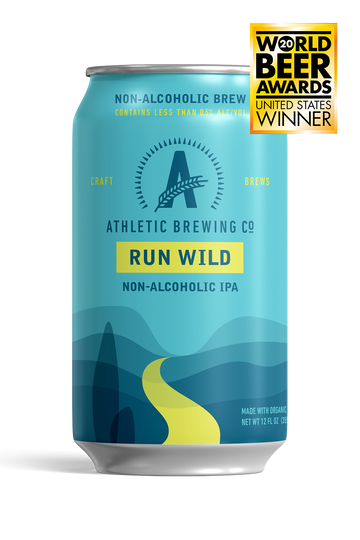 Athletic Brewing Co Run Wild NA IPA *Single Cans*