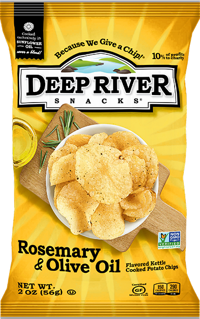 Rosemary Olive Oil Chips - Deep River