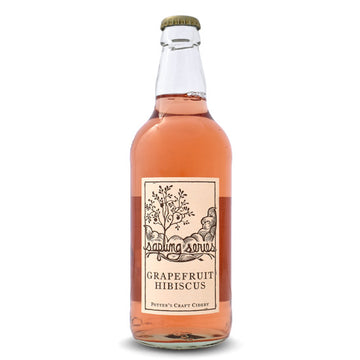 Potter's Sapling Series Graprefruit Hibiscus Cider *Single Bottle*