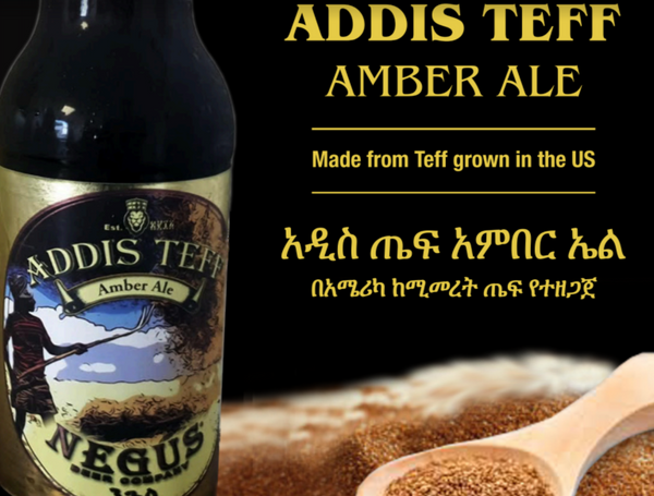 Negus Brewing Addis Teff Amber Ale