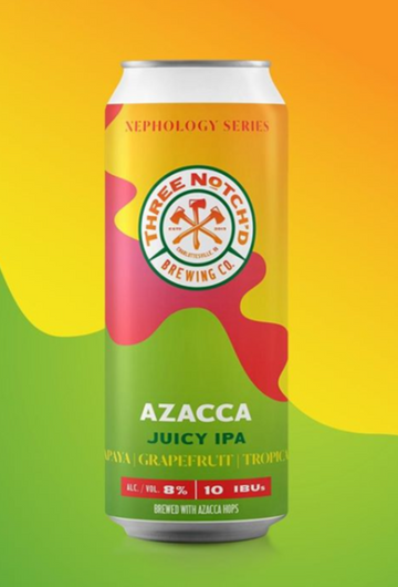 Three Notch'd Brewing Nephology Azacca *single can*