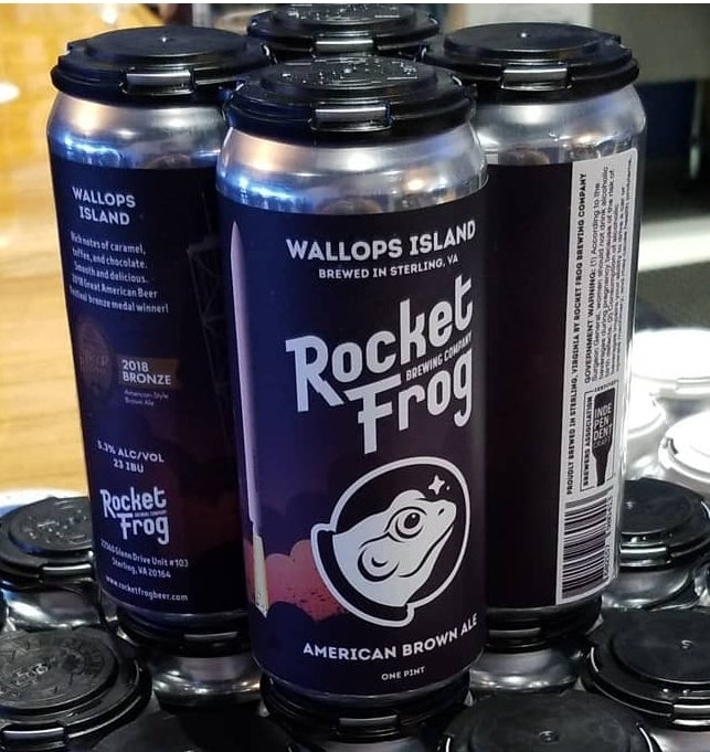 Rocket Frog Brewing Wallops Island Brown Ale