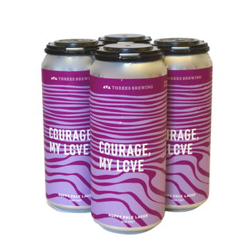 Threes Brewing, Courage, My Love Hoppy Pale Lager