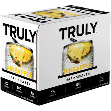 Truly Pineapple Hard Seltzer