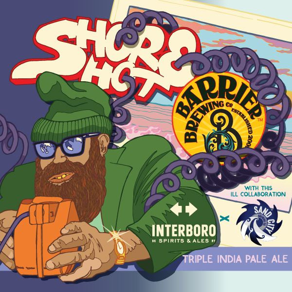 Barrier Brewing Shore Shot Triple IPA