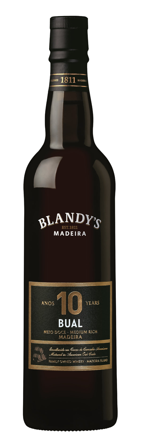 Blandy's 10 Year Old Bual Madeira 500ML