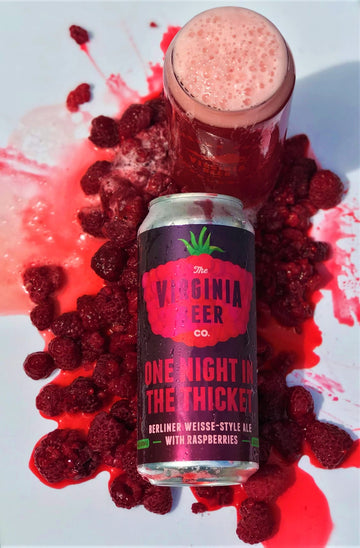 Virgina Beer Co. One Night in Thicket Raspberry Sour Ale
