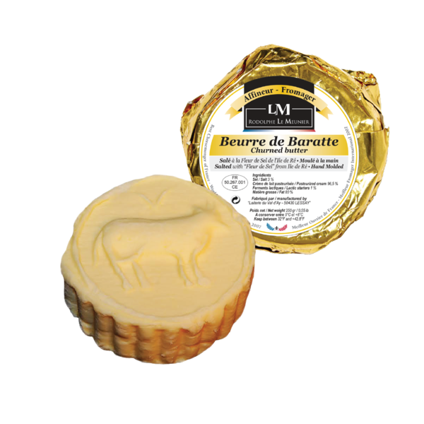 "Beurre de Baratte Churned Butter ""Salted"" - Rodolphe Le Meunier"