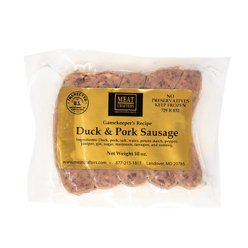 Duck & Pork Sausage - Meat Crafters