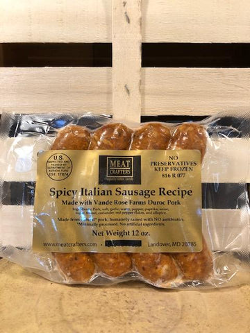 Spicy Italian Sausage - Meat Crafters