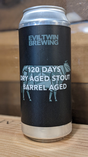 Evil Twin 120 Days Dry Aged Stout Barrel Aged *Single Can*