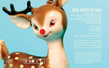 Bluejacket Run Rudolph Run Imperial Stout *Single can*