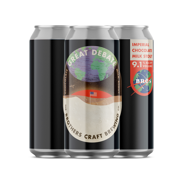 Brothers Craft Brewing Great Debate Chocolate Milk Stout