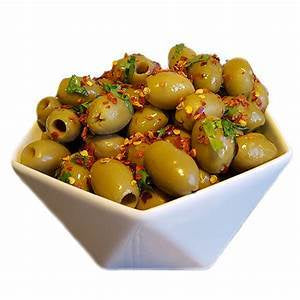 Greek Olives with Chilies