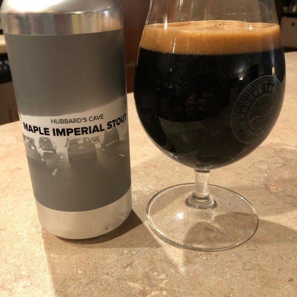 Hubbard's Cave Maple Imperial Stout *Single Cans*