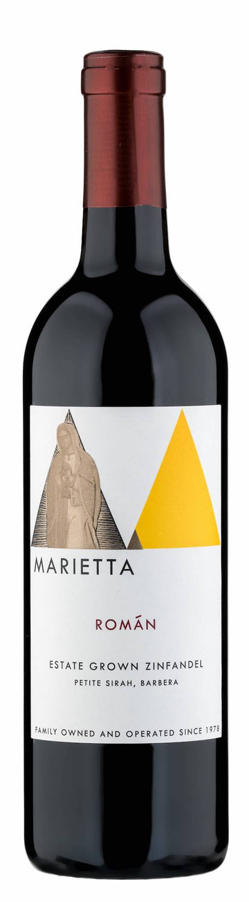 Marietta Cellars Román Estate Grown Zinfandel 2016