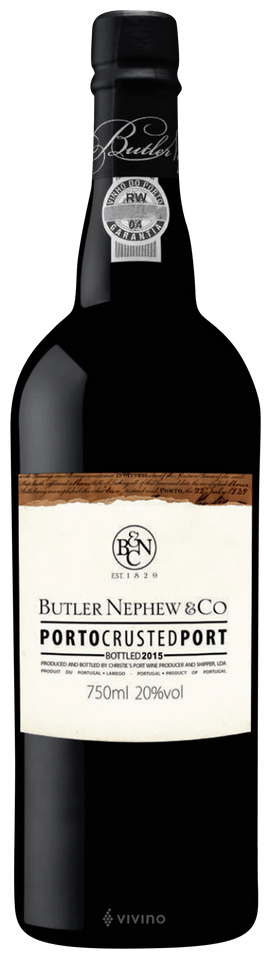 Butler Nephew & Co 2015 Crusted Port