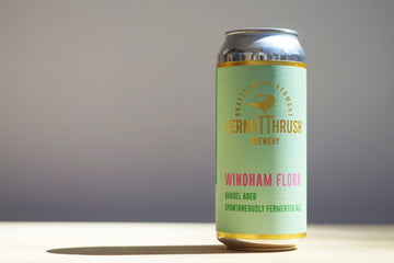 Hermit Thrush Windham Flora Coolship Spontaneous Ale *Single Can*