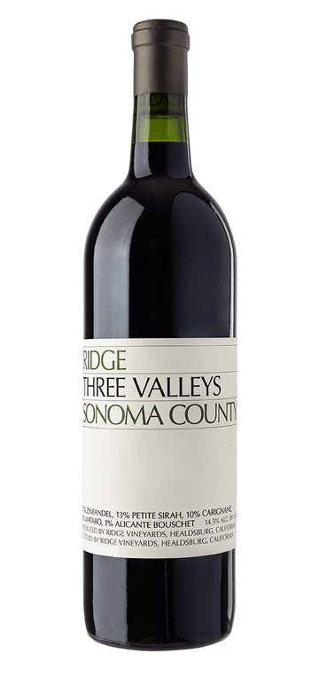 Ridge Three Valleys Zinfandel 2019