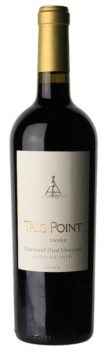 Trig Point MERLOT Diamond Dust Vineyard 2018