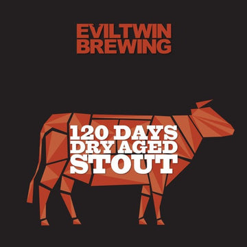 Evil Twin Brewing 120 Days Dry Aged Stout *Single Cans*
