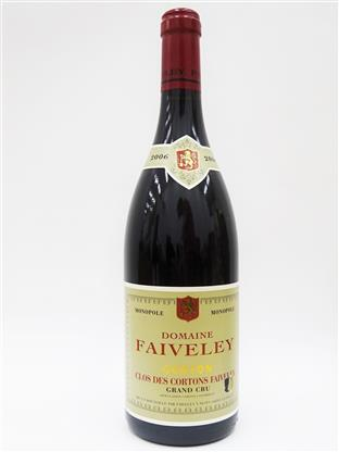 Domaine Faiveley Corton 'Clos des Cortons Faiveley' Monopole Grand Cru 2006 (Cellar)