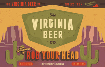Virginia Beer Co Rob Your Head IPA
