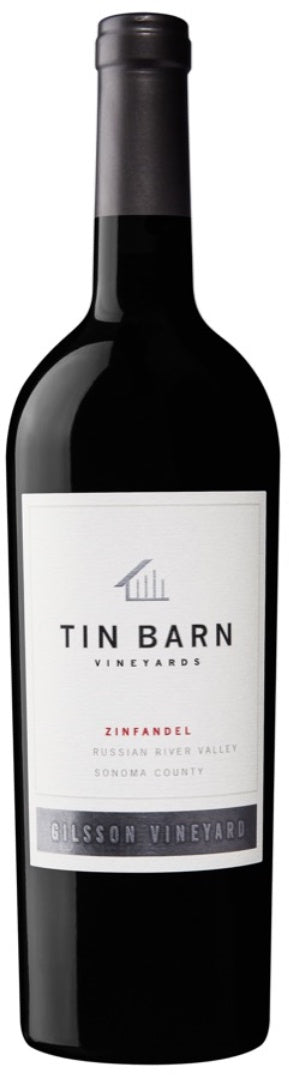 Tin Barn Vineyards Russian River Valley Zinfandel Gilsson Vineyard 2015