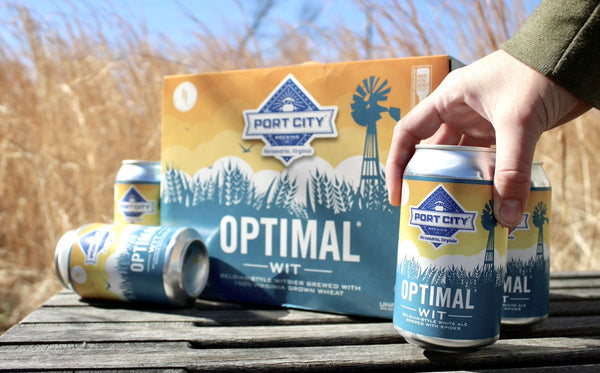 Port City Optimal Wit 12 pack 12oz Cans