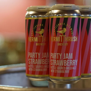 Hermit Thrush Party Jam Strawberry Sour *Single Cans*