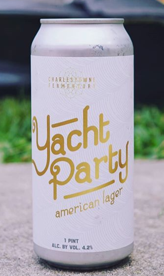 Charlestown Fermentory Yacht Party Lager