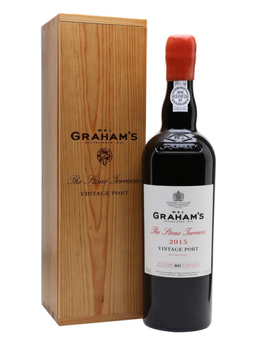 "Graham's Vintage Port ""The Stone Terrace"" 2015"
