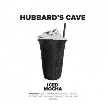 Hubbard's Cave Iced Mocha Stout