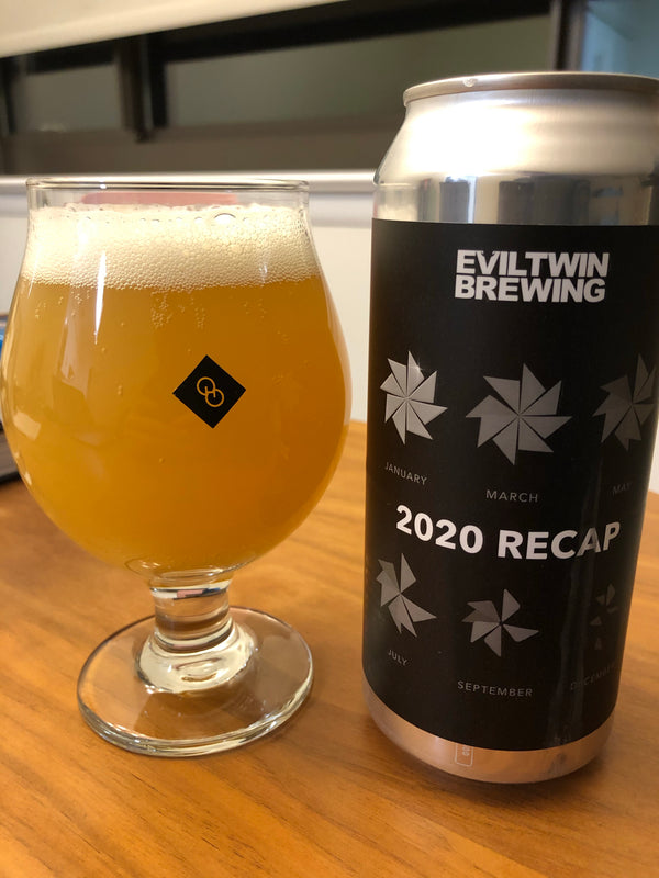 Evil Twin Brewing 2020 Recap Pale Ale *single can*