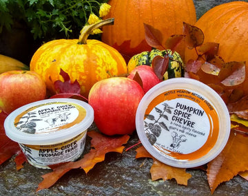 Pumpkin Spice Chevre - Nettle Meadow