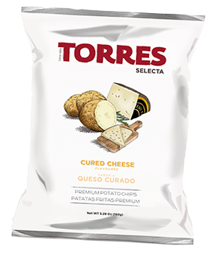 Torres Selecta Potato Chips - Cured Cheese
