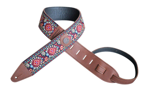 original gypsy leather guitar strap peace general store. Black Bedroom Furniture Sets. Home Design Ideas