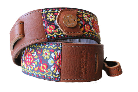 Original Gypsy Leather Banjo Strap PRE-ORDER