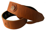 Copperpeace Homerun Guitar Strap // Brown