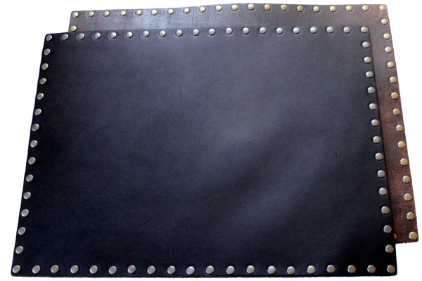 Leather Placemat - Black or Brown