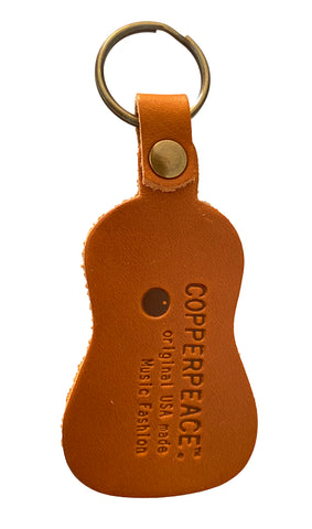 Copperpeace Guitar Keychain