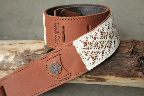 Gold Byrd Lace Banjo Strap // Limited Edition